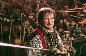 Robin Williams como Peter Pan