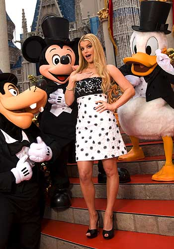 GOOFY, MICKEY MOUSE, JESSICA SIMPSON, DONALD DUCK