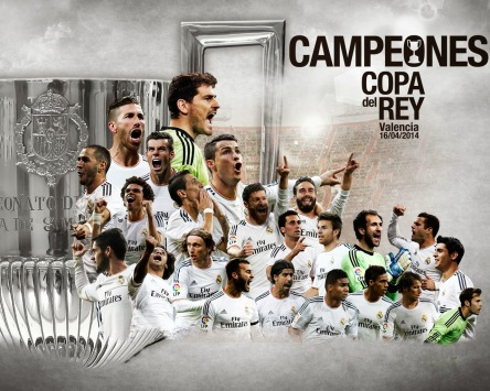 Campeones Copa del Rey 2014