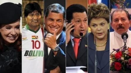 presidentes bolivarianos