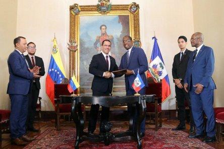 venezuela-haiti