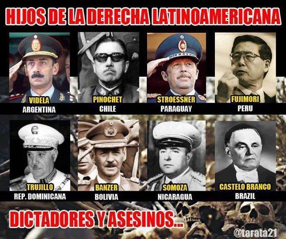 dictadores de derecha