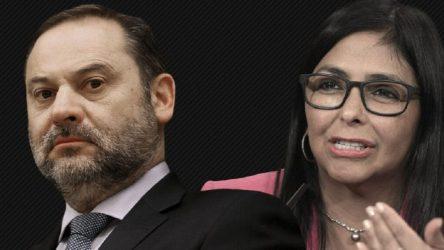 Ministro-español-Abalos-y-Delcy-Rodríguez-696x392